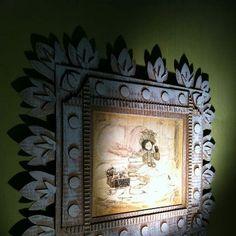 recycled cardboard frame