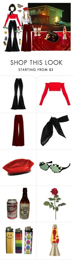 """""""Groovy lovers"""" by witchydoll ❤ liked on Polyvore featuring Faith Connexion, Racil, TC Fine Intimates, kangol and Lava Lite"""