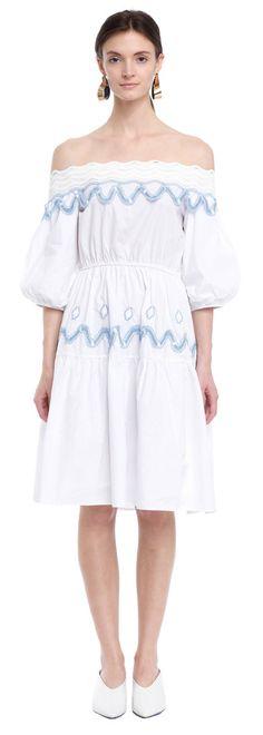 Pilo Dress - White