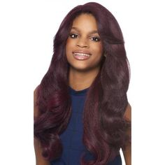 Outre Synthetic Lace Front Wig L Part Batik - Dominican Blowout Relaxed - HAIRSOFLY