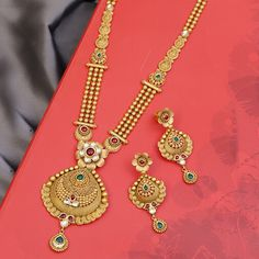 Antique Jewelry, Gold Jewelry, Women Jewelry, Necklace Set, Gold Necklace, Long Necklaces, Sparkle, Diamond, Antiques