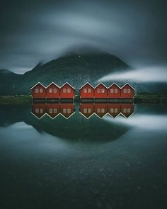 Sunndalsøra, Norway. : AccidentalWesAnderson