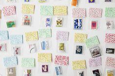 Vintage stamp packs