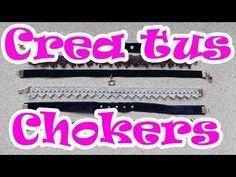 Crea tus propios Chokers - YouTube