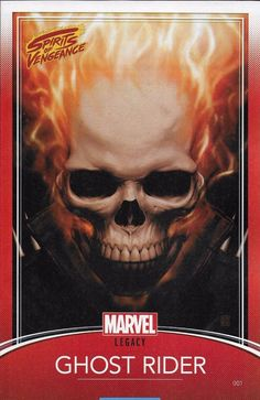 Marvel Legacy Ghost Rider Spirits of Vengeance comic issue 1 Limited variant