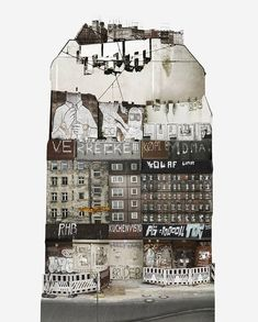<p>In this beautiful mixed-media collages project, Swedish based artist Anastasia Savinova try to identify the differences and similarities between places of habitation. Travelling around cities and countries, she take pictures of buildings, sneakily looking through windows, going to local shops, flea markets and bars to watch everyday life of each cities – all this helps…</p>