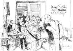 Croque and Roll Live   Croquis de concerts