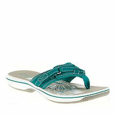 Clarks Women's Breeze Sea Thong Sandals (FootSmart.com)  Just bought these for summer!!