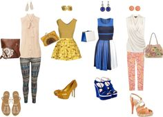 """Tendencias P/V2013 silueta Triangulo Invertido"" by katy-yo21 ❤ liked on Polyvore"