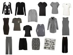 A Travel Capsule Wardrobe - Packing in black, white and grey for a week in a city   The Vivienne Files