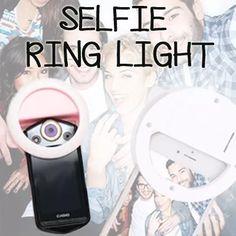 S 14 90 76 Selfie Ring Light Cool Gadgets