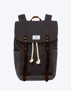 No. 2 - Backpack, Dark Grey (brown) – Ada Blackjack