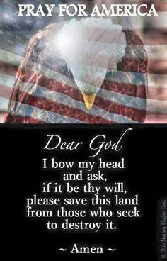 Lord we need you desperately to heal our land and protect us from this evil enemy within!