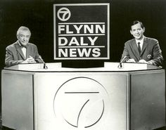 Fahey Flynn and Joel Daly brought the news to our house every evening.