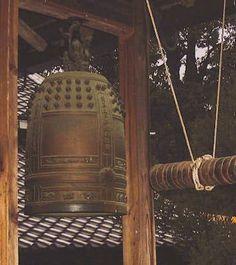 japanese buddhist bells   Antique 19th Century Japanese Meiji Bronze Zen Buddhist Bell