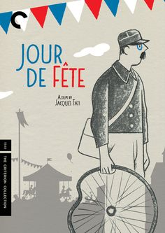 Movie Poster of the Week: The Criterion Jacques Tati covers on Notebook | MUBI