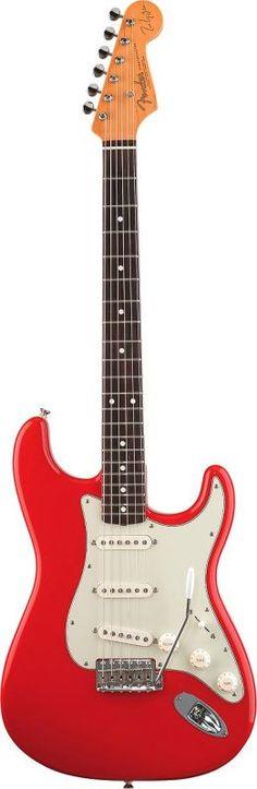 Mark Knopfler Fender Stratocaster - RW - Hot Rod Red