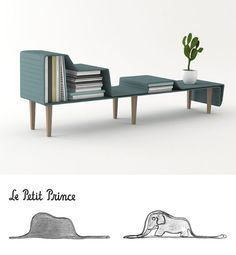 Table based off of the book The Little Prince
