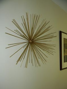Have you been lusting over metal starburst wall sculptures like these? ...