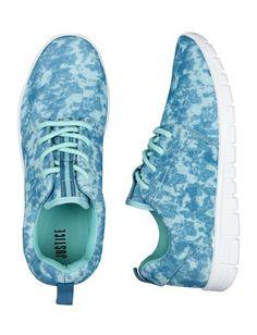 Blue Dye Effect Jogger Sneakers