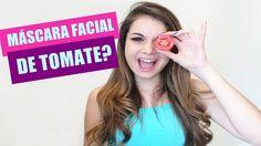 Máscara facial de tomate (Contra cravos, espinhas e manchas)