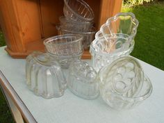 1 Pint Glass Jelly Mould, £5.00