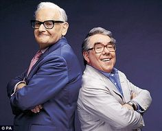 The Two Ronnies    It's goodnight from me and it's goodnight from him