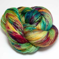 Soft and supple, this single ply yarn from Mrs. Crosby is available in a range of sophisticated colors to give something special to your next classic accessory or garment. 100% Superwash Merino Wool 3