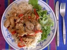 Číňan na houbách Tacos, Mexican, Chicken, Meat, Ethnic Recipes, Food, Essen, Yemek, Mexicans