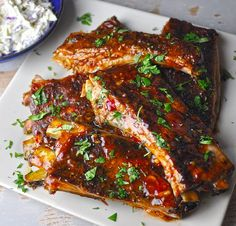 Melt-in-your mouth pork ribs — No barbecue pit required