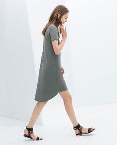 Image 3 of SHORT SLEEVE DRESS from Zara