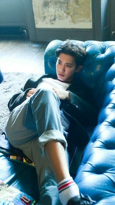 Park Chanyeol everybody. Serving our visual needs Park Chanyeol Exo, Baekhyun Chanyeol, Kpop Exo, Kris Wu, Exo 2017, Tommy Hilfiger, Jimin, Baby Tumblr, Kim Minseok