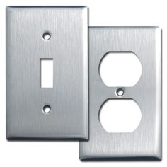 Steel switches & outlets