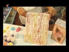 (15) SEMPRE FELIZ - Aprenda a fazer a técnica de pátina - YouTube Decoupage Glass, Decoupage Paper, Painting Tips, Painting On Wood, Painting Videos, Diy Videos, Craft Videos, Starry Night Artist, Decoration