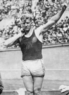 Herman Brix won the silver medal in the shot-put at the 1928 Olympic games, Amsterdam.