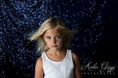 Go for a deep and dark shimmering look with our Navy Sequin Backdrop. Sequin Backdrop, Fabric Backdrop, Sequin Fabric, Photographing Kids, Backdrops, Amber, Sequins, Deep, T Shirts For Women