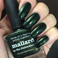 picture polish - mallard  #picturepolish #mallard #notd #nail #nails #nailstagram #nailpolish #nailpolishaddict #nailswag #manicure #픽쳐폴리쉬 #네일 #네일스타그램 #매니큐어 #해외네일 #ネイル #セルフネイル #マニキュア #маникюр #ногтей