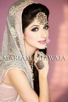 Mariam Khawaja Bridal Makeup Ideas 2014-15 | New Makeup Ideas For Modern Brides