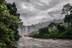 Quedas de Kalandula. Ficam no rio Lucala, na província de Malanje, Angola.