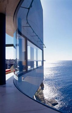 House Holman by Durbach Block Architects. panoramic sea view, I think that's the price on my soul.