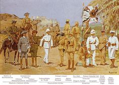 Uniforms of the German Colonial Forces The uniforms of the Schutztruppe, Polizeitruppe and East Asian Occupation Brigade appear very accurate