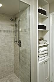 Love the shower tiling. Something like this once we rip out the pre existing shower?