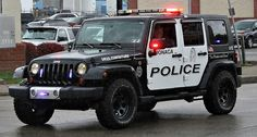 Police Jeep--this is bad ass!!
