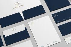 Vinter Olsen - Stationery / Branding Mock-Up by Zeisla, via Behance