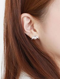 Dino Dinosaur earrings,  Pterodactyl ,Pteranodon Earrings ,Vulcanodon