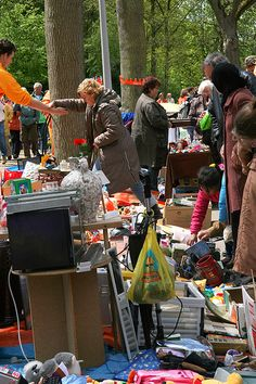 Every year on King's day ~ flea market