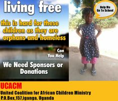 Please Help Us To send Atwine to school next semester. African Children, People In Need, Helping Hands, The Unit, School, African Kids, Children In Africa, Schools, African Babies