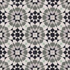 Encaustic Cement Tile / Cement Tile Shop / Casablanca Gray