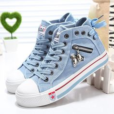 Women Fashion Sneakers Denim Canvas Shoes Spring/Autumn Casual Shoes Trainers Walking Skateboard Lace-up Shoes Femmes Denim Shoes, Suede Shoes, Lace Up Shoes, Pump Shoes, Pumps, Women's Shoes, Platform Shoes, Shoes Sneakers, Womens Fashion Sneakers