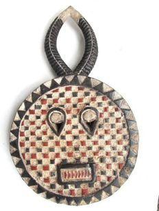 Facial Goli mask - BAULE - Ivory Coast